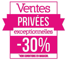 STICKER FLUO Ventes Privées (kit de 2)