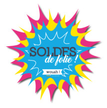 Sticker Soldes Enjoy (kit de 2)