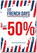 Affiche FRENCH DAYS Nation